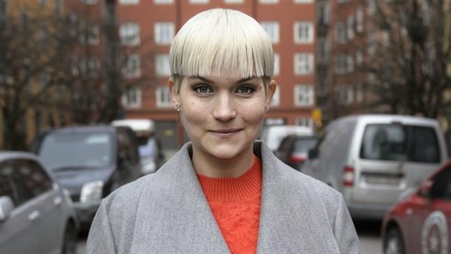"""Tiffany Kronlöf är i höst aktuell med tv-programmet """"Finska rycket med Tiffany"""". Arkivbild."""