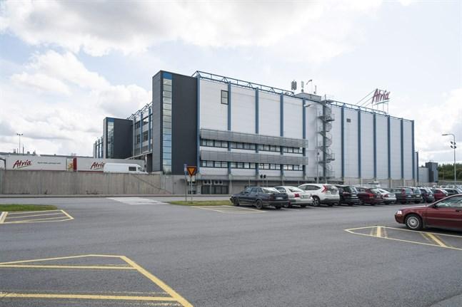 Olyckan inträffade här, vid Atrias fabrik i Nurmo utanför Seinäjoki.