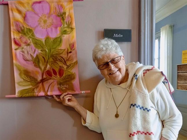 För Nelly Jurvèlius är målandet en viktig del av livet.