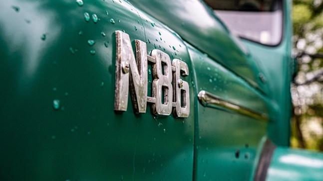 Ehrs har en Volvo N86 från 1969.