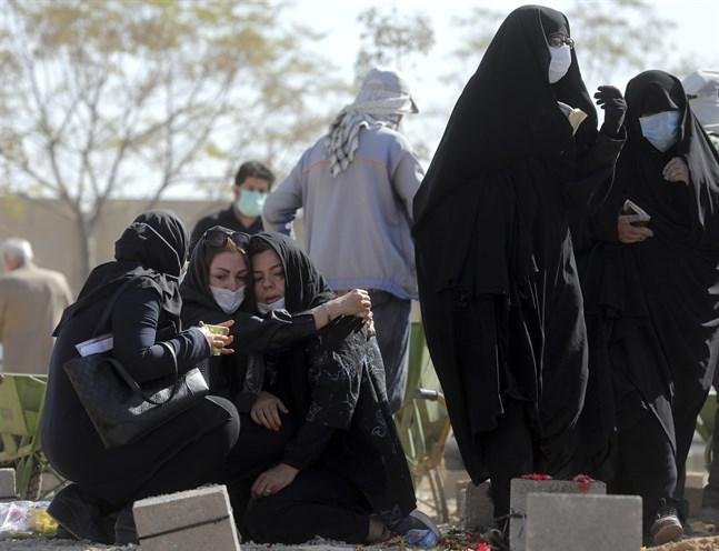 Med över 100000 dödsfall är Iran regionens hårdast drabbade land under coronapandemin. Arkivbild, Teheran.