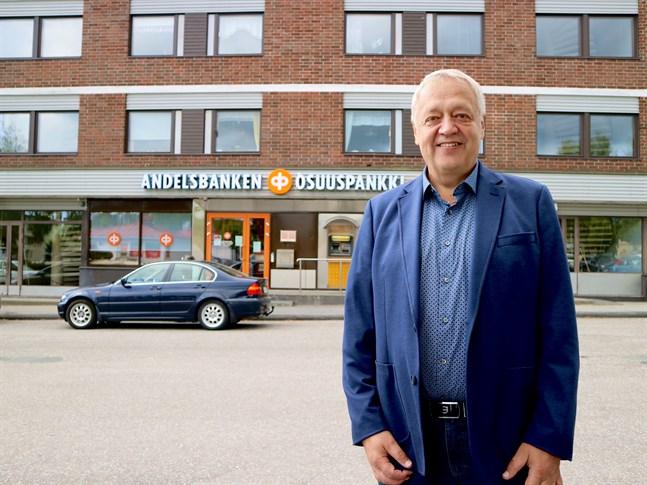 Håkan Braskén skrattar mycket och uttrycker sig med eftertanke. Att bli pensionär efter 42 år på samma jobb är både skönt och vemodigt.