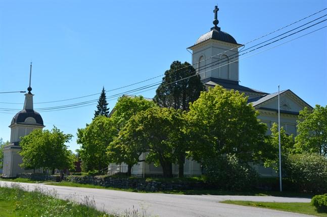 I söndags var det dags för årets konfirmation i Korsnäs kyrka.