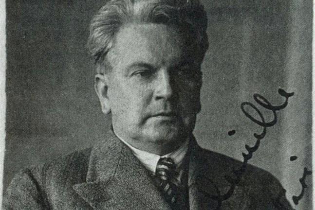 Primus Nyman 1930. Bild ur boken, Tapio Kallios samling.