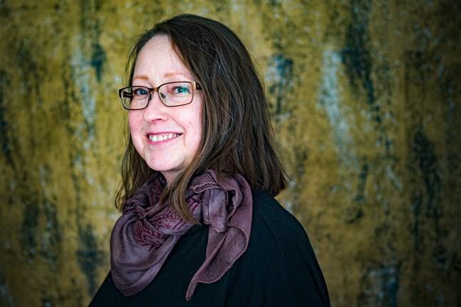 Illustratören Margareta Sandin är född och uppvuxen i Nykarleby.