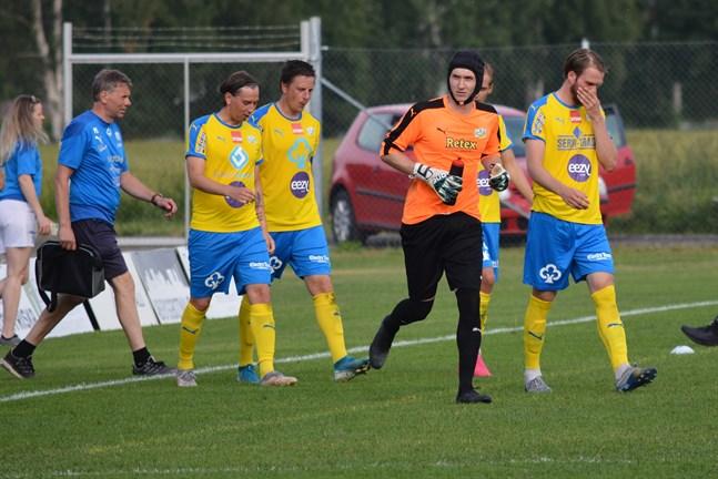 Kraft fick vända hem från Jakobstad utan poäng.
