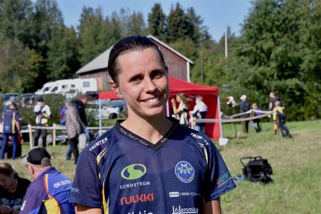 Jenny Finnäs vann i Öja.