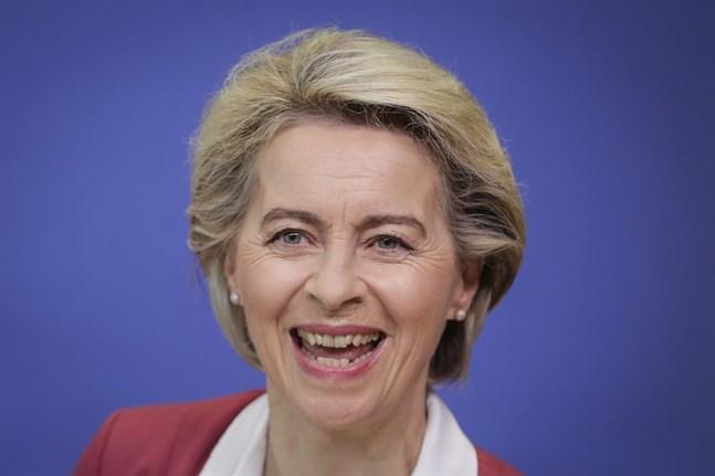 EU-kommissionens ordförande Ursula von der Leyen säger att vaccinationerna måste fortsätta – både inom EU och i resten av världen. Arkivbild.