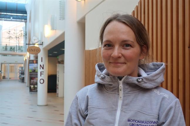 Annika Sjöberg-Snellman är Kronobys nya motionsrådgivare.