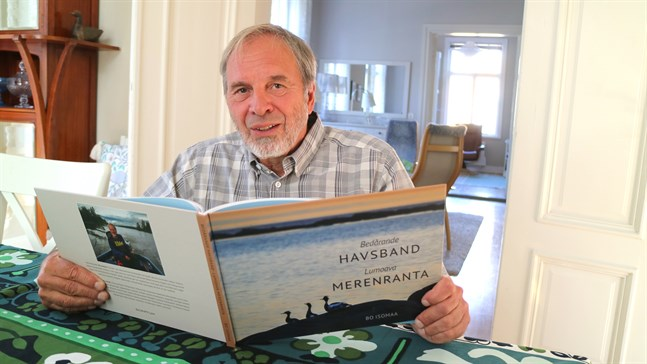 Naturfotografen Bo Isomaa i Jakobstad ger nu ut sin tredje bok.