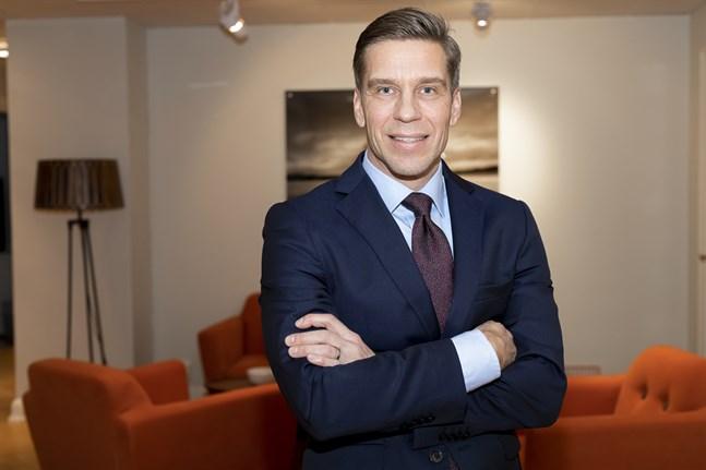 Jan-Ove Sundgren kan dra nytta av sina österbottniska rötter i sitt uppdrag för Odin fonder. Han kommer att vara gäst hos Jakobstadsnejdens Aktiesparare den 30 september.