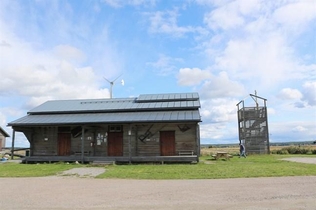 Meteorian är ett ställe där besökare kan ta del av Söderfjärdens geologiska historia, lära sig om astronomi och iaktta fåglar.