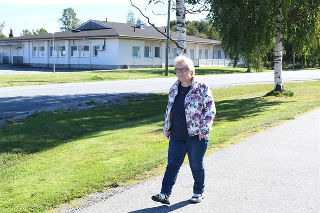 Att förvandla kök- och matsalsbyggnaden på KKC-området till ny kommungård är ett av projekten i Korsnäs den kommande mandatperioden, berättar kommunstyrelsens ordförande Anna-Lena Kronqvist.