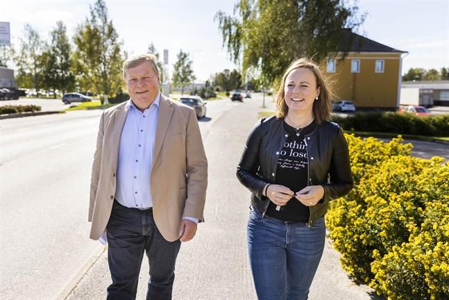 Kjell Heir och Anna Bertills.