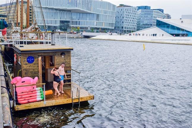 Oslos innerstad har på senare tid fått en helt egen bastukultur med ett 20-tal flytande bastur och 100 000 bastubad per år.