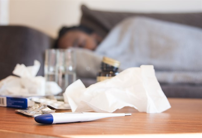 Eny studie visar att unga vuxnas lungor inte påverkas på lång sikt av coronaviruset. Arkivbild.
