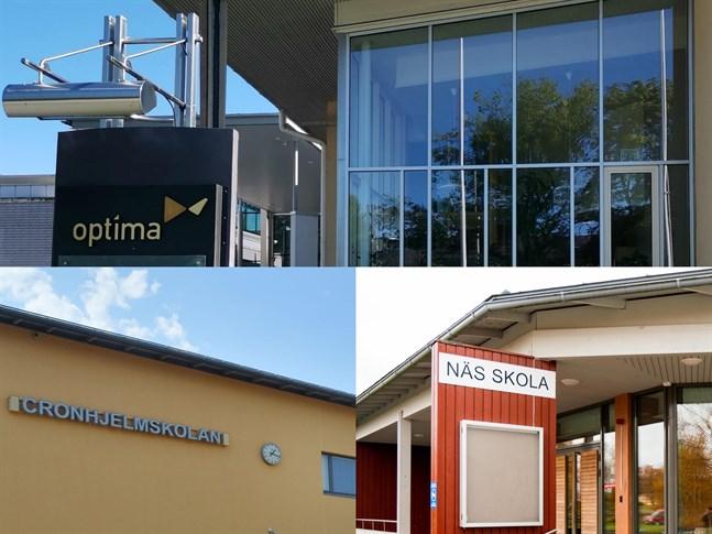 Under veckan har det inträffat flera exponeringar i Jakobstads och Larsmos skolor.