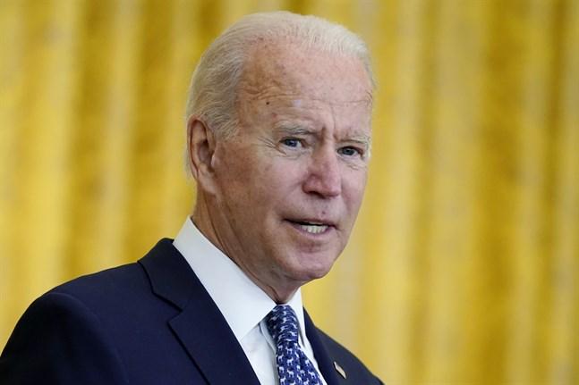USA:s president Joe Biden.