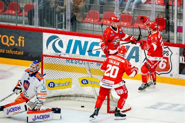 Sport besegrade Tappara i sin första hemmamatch för säsongen. I kväll är det dags för det andra Tammerforslaget att pröva lyckan på Kopparön.