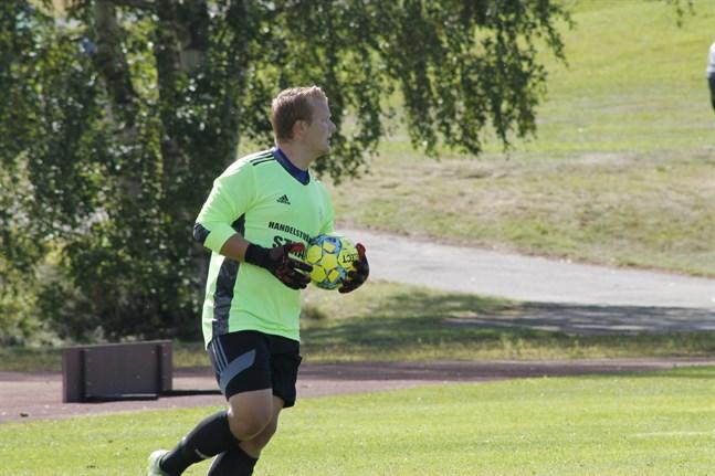 Det blev tre poäng för Jakob Strand och hans Kaskö IK på lördagen.