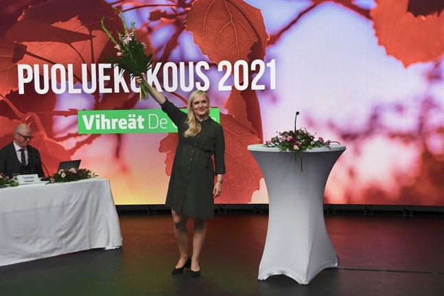 Maria Ohisalo har fungerat som De Grönas ordförande alltsedan 2019.