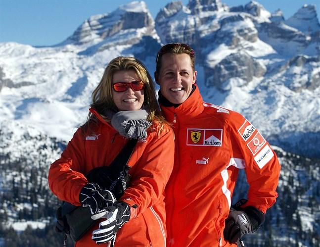 Corinna och Michael Schumacher.