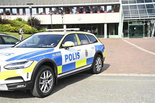 Knivdådet inträffade på en gymnasieskola i Nässjö i fredags.