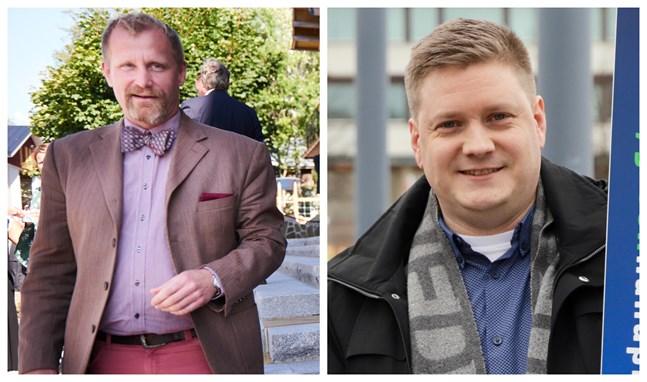 Kenneth Widell och Kristoffer Jansson tycker det är väldigt viktigt att företag och högskolor samarbetar mer. Det vinner alla på.
