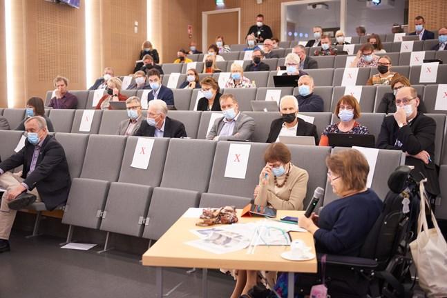 Vasa sjukvårdsdistrikts fullmäktige har diskuterat datasystemet och kommer att göra det igen.