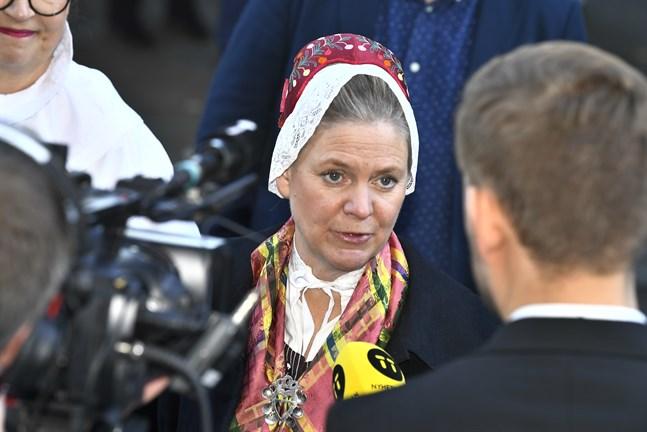 Finansminister Magdalena Andersson (S) - Sveriges nästa statsminister?
