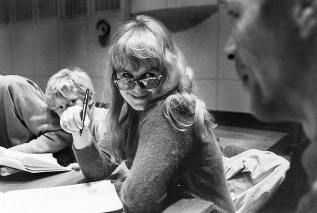 Lena Nyman 1967. Arkivbild.