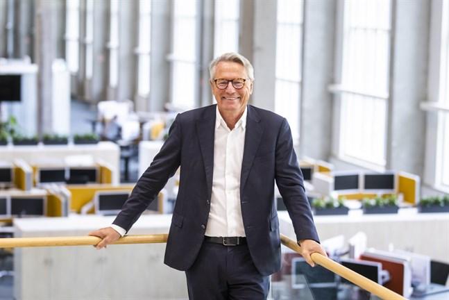 """Björn Rosengren sökte jobb på ABB när han var ung, men fick nej. I dag är han vd och koncernchef. """"Det här är min revansch"""", skämtar han."""