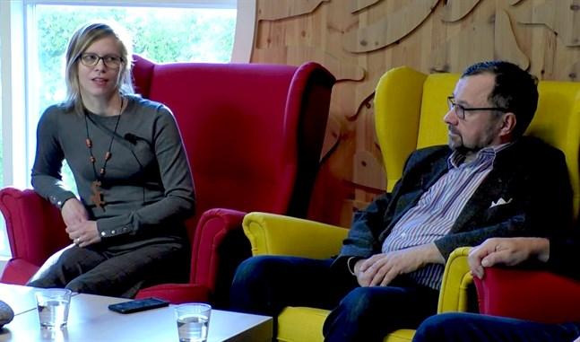 Pia-Maria Thomssen deltog tillsammans med bland andra Rasmus Hautala från projektet CERM i tisdagens webbsända föreläsningar arrangerade av Skogscentralen.
