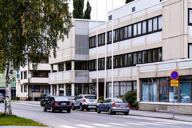 Ämbetshuset i Nykarleby.