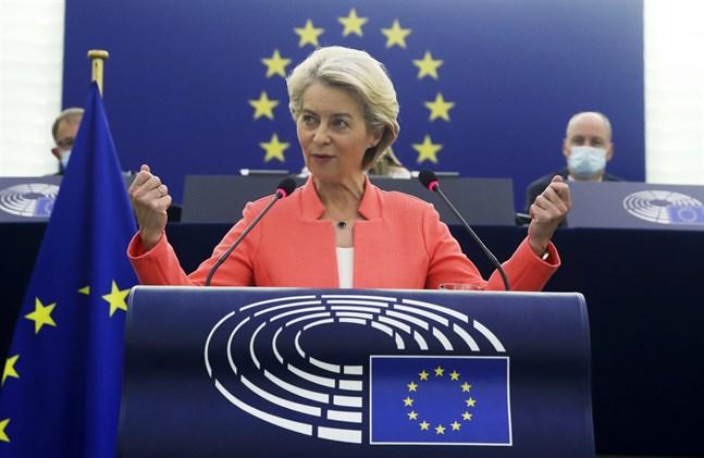 EU ska bli världsbäst på halvledare, manar kommissionsordförande Ursula von der Leyen i sitt årliga tal om läget i unionen.