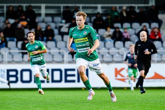 Severi Kähkönen avgjorde för KPV.