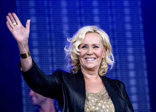 """Agnetha Fältskog berättar om mottagandet i kommande """"Svensktoppen"""" på P4. Arkivbild."""