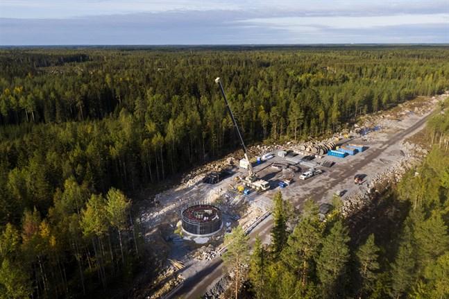 Markarbetet har kommit igång i Märkenkall. Nästa sommar monteras turbinerna.