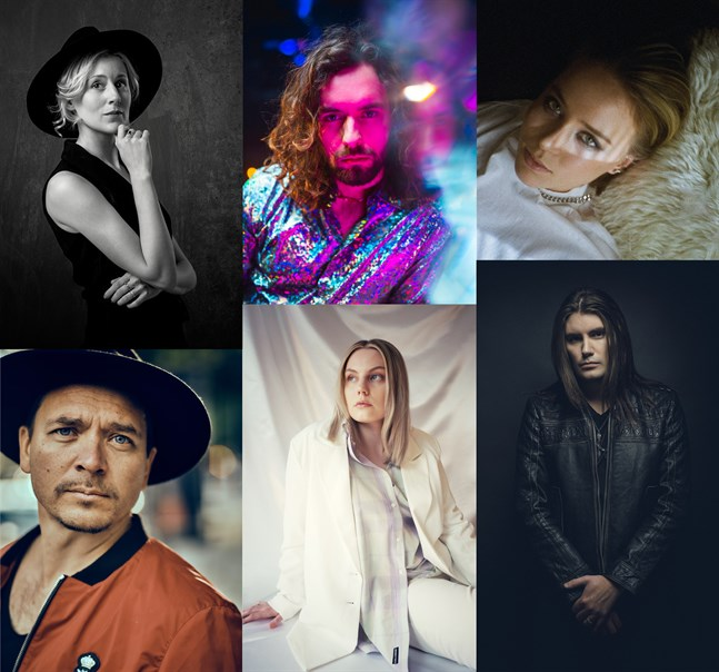 "Frida Andersson, Paul Elias, ILON, Fredrik Furu, Josefin Sirén och André Linman medverkar alla i ""A song is born""."