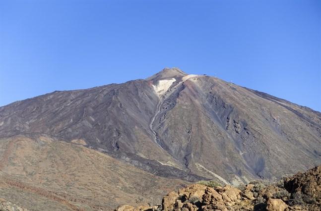 Vulkanen Teide på Tenerifa. Arkivbild.