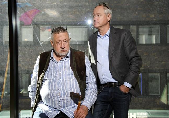 """Leif GW Persson ligger bakom idén till """"Det som göms i snö"""". Robert Gustafsson spelar huvudrollen."""