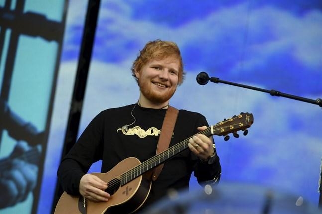 Ed Sheeran komme till Finland nästa år.