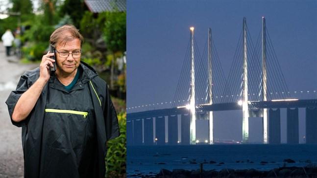 Leif Blomqvist skulle öka sin plantförsäljning kraftigt med en Kvarkenbro, han hoppas själv få uppleva en bro till Umeå.