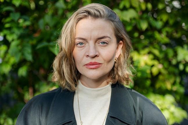 30-åriga Olga Grönvall Lund tycker att omställningen av matsystemet är vår tids viktigaste fråga.