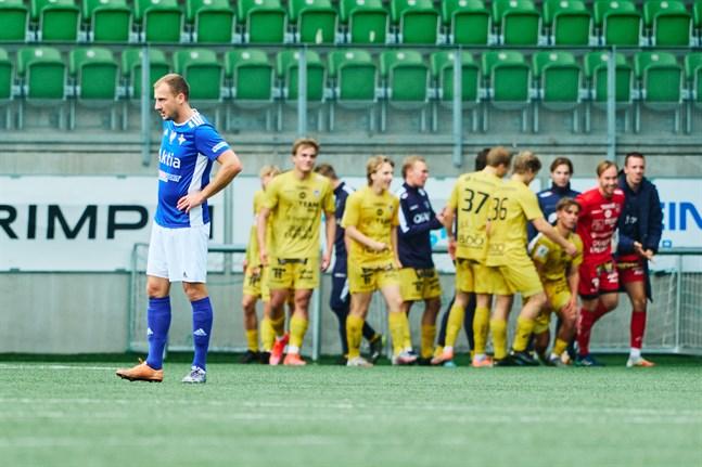 Gästernas tredje mål i 76:e minuten punkterade matchen och Vasa IFK klarade inte av att resa sig från det.