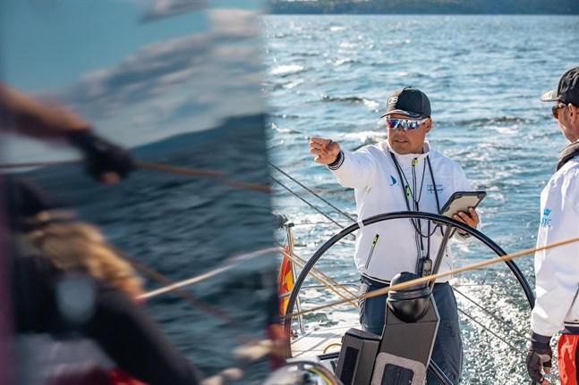 Michael Wahlroos från Vasa skeppade Finland till den första segern någonsin i Nord Stream Race.