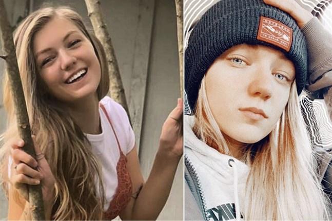 """Gabrielle """"Gabby"""" Petito försvann under en bilsemester med sin pojkvän. Bilder från FBI."""