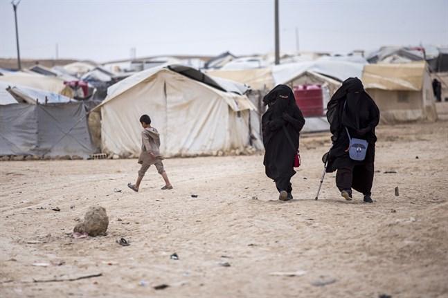 Lägret al-Hol i nordöstra Syrien kontrolleras av kurderna och hyser tiotusentals familjer med misstänkta kopplingar till terrorrörelsen IS.