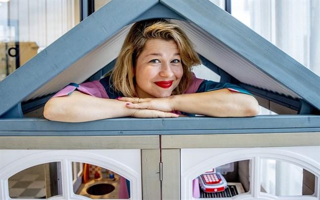 Anete Melece ser det svenska Peter Pan-priset som en uppmuntran att göra fler helt egna barnböcker.