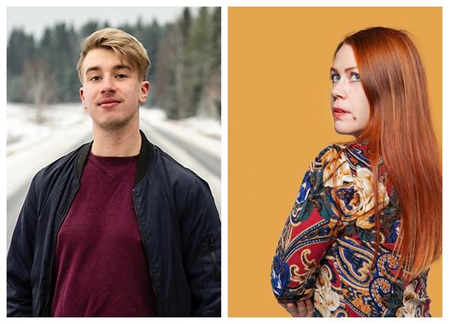 Joel Sundkvist och Charlotta Kerbs.